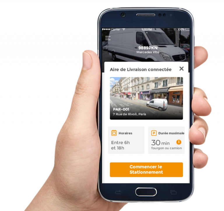 Parkunload App Smart Parking Stationnement Bluetooth