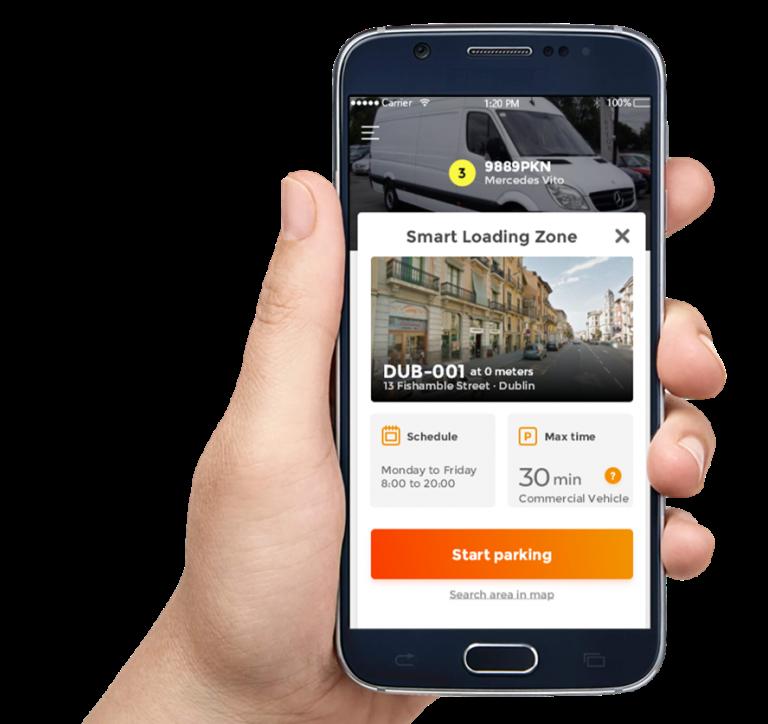 Parkunload App Smart Loading Zone Conditions