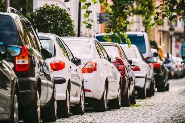Zone de stationnement pour les résidents Parkunload App